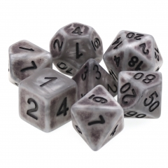 Silver Anciet Dice