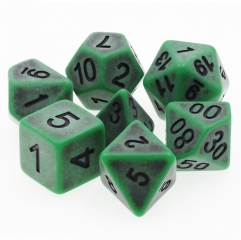 Green Ancient Dice