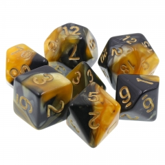 (Black+Yellow) Blend Color Dice
