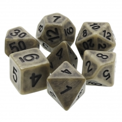 Cyan Ancient Dice