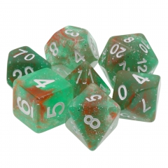 (Red+Green) Galaxy Dice Set