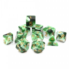 Emerald White Jade-11 pcs set
